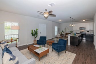 Living/Kitchen at Listing #335075