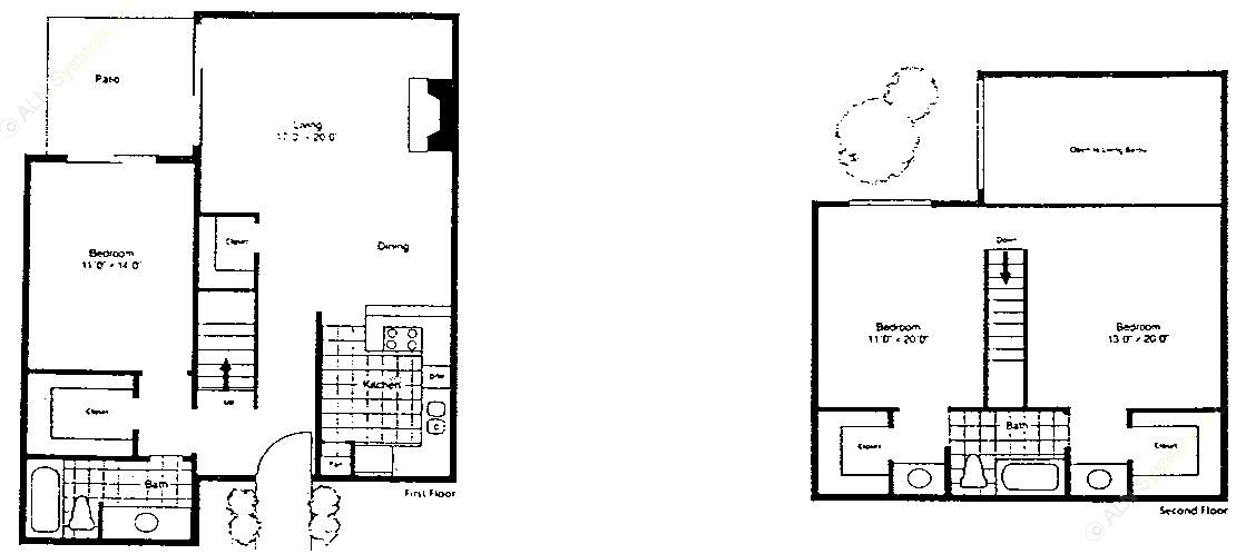 1,488 sq. ft. SC-1/60 floor plan