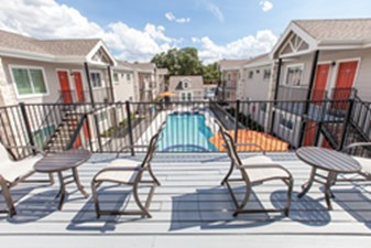 Patio at Listing #139393