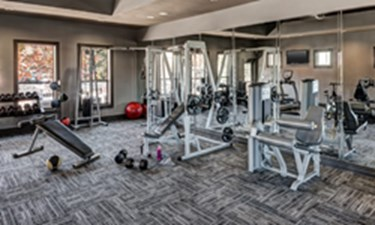 Fitness Room at Listing #146227