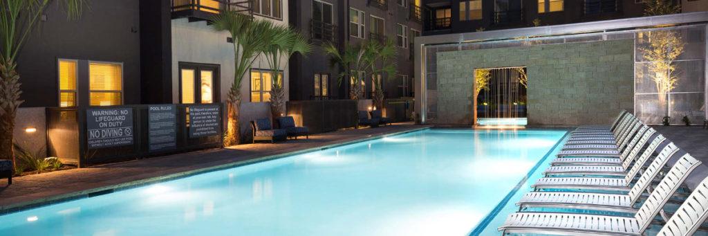 Pool at Listing #287923
