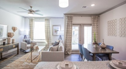 Living/Dining at Listing #301771