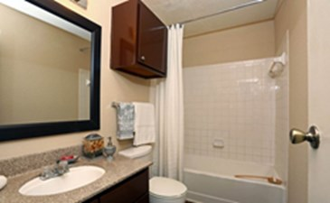 Bathroom at Listing #140184