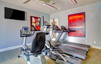 fitness center at Listing #138700
