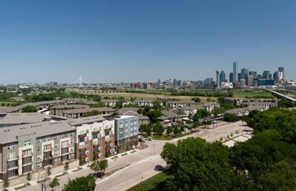 Aerial View at Listing #140121
