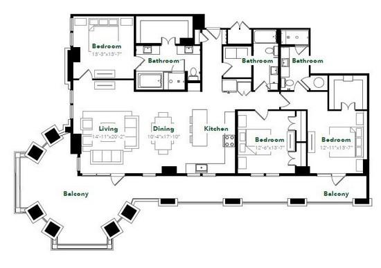 2,026 sq. ft. COC.1 floor plan