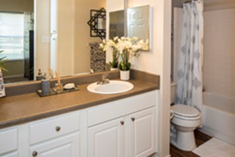 Bathroom at Listing #137851