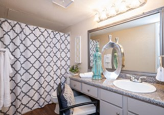 Bathroom at Listing #135841