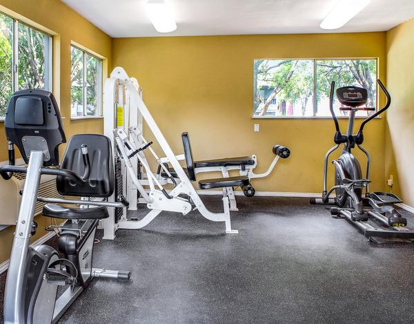 Fitness Center at Listing #135794