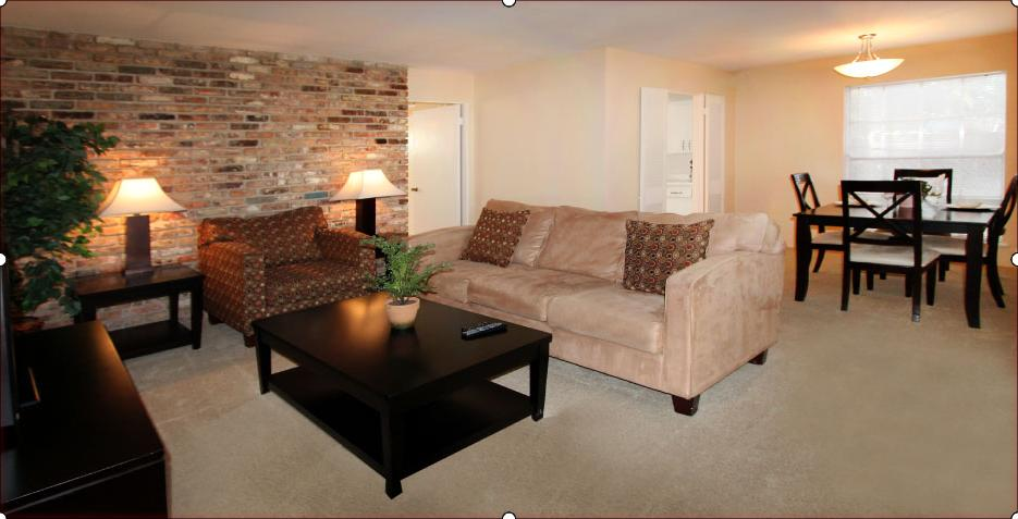 Living/Dining at Listing #138830