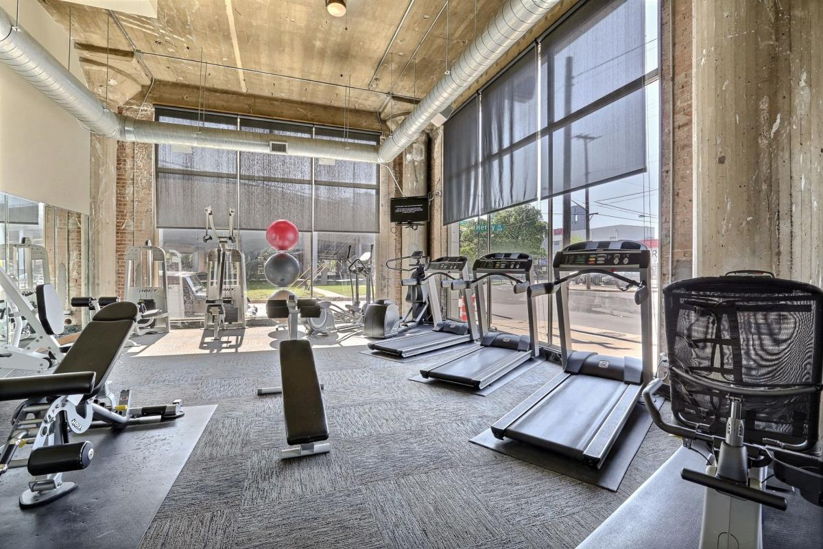 Fitness Center at Listing #138208