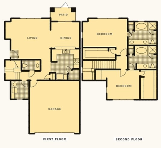 1,646 sq. ft. Grove floor plan