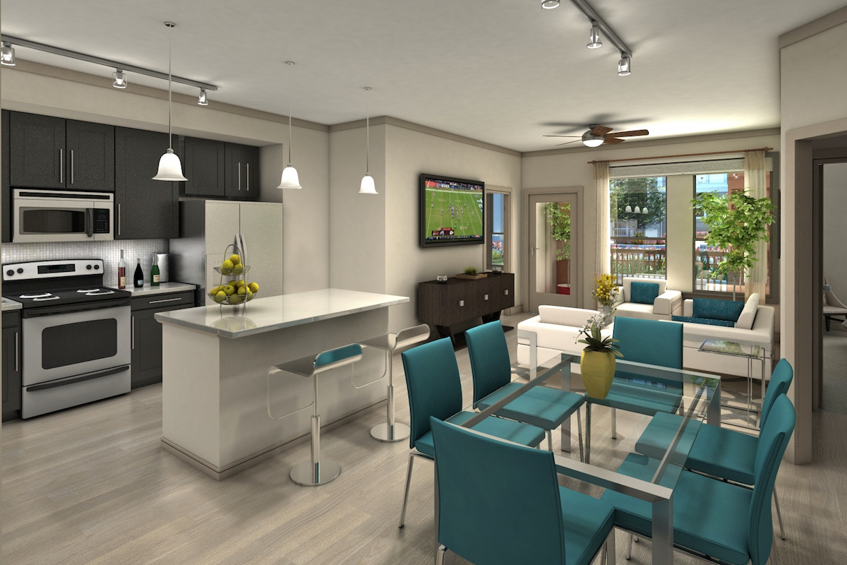 Dining/Kitchen at Listing #281680