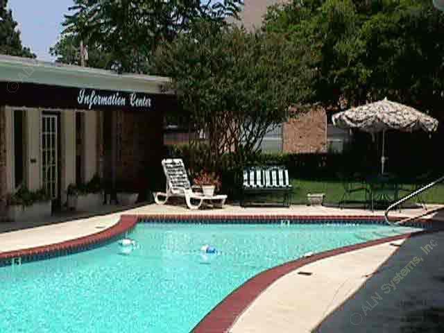 Pool Area at Listing #136679
