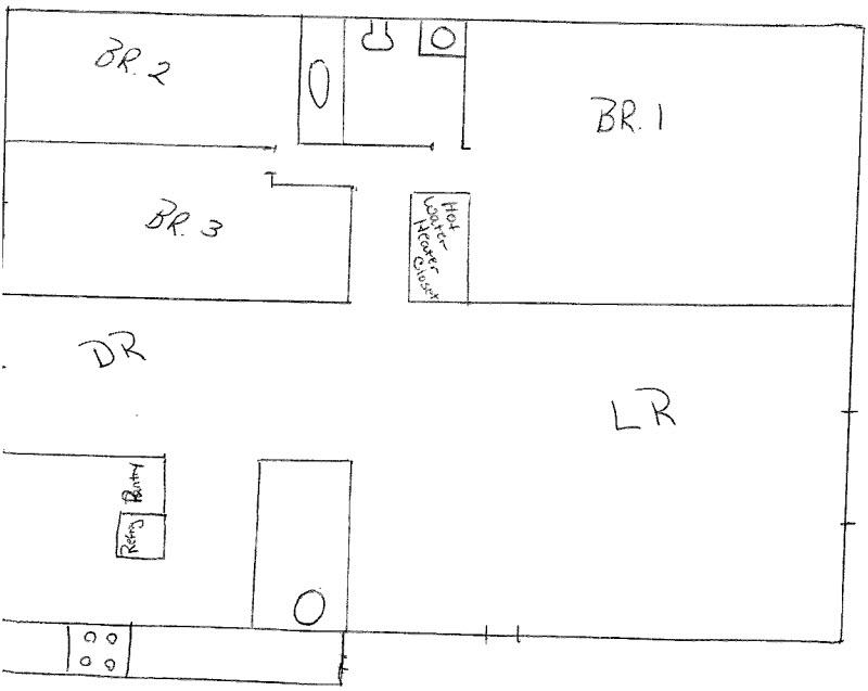 750 sq. ft. floor plan