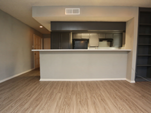Living/Kitchen at Listing #136561
