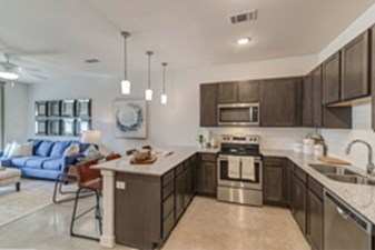 Living/Kitchen at Listing #319662