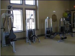 Fitness Center at Listing #145138