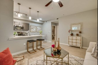 Living/Kitchen at Listing #136521