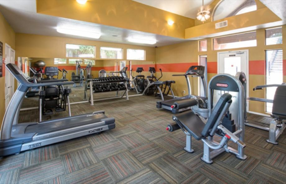 Fitness Center at Listing #136084