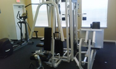 Fitness Center at Listing #144874