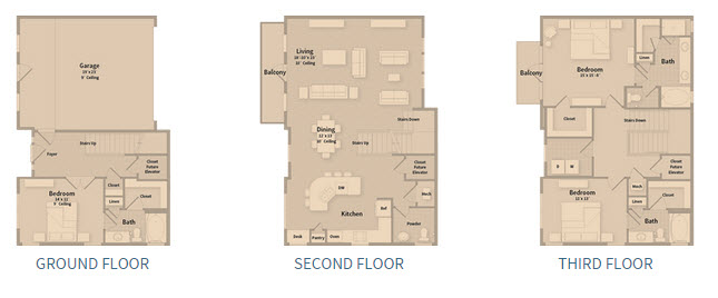 2,467 sq. ft. T2C floor plan