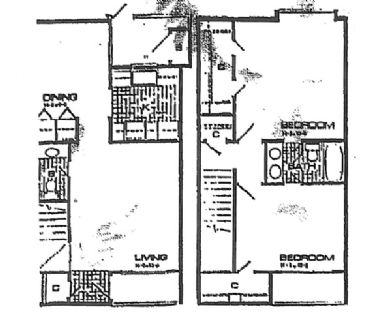1,148 sq. ft. floor plan