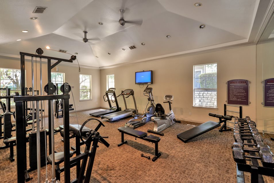 Fitness Center at Listing #137686