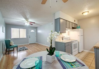 Dining/Kitchen at Listing #211420