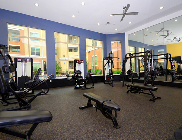 fitness center at Listing #151492