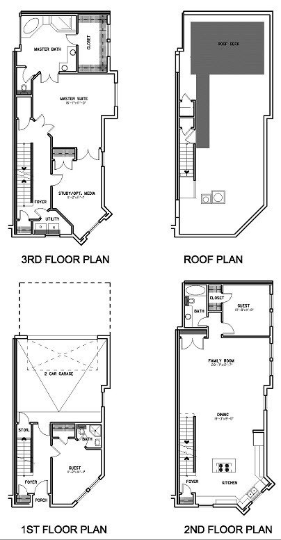 2,450 sq. ft. Floor Plan D floor plan