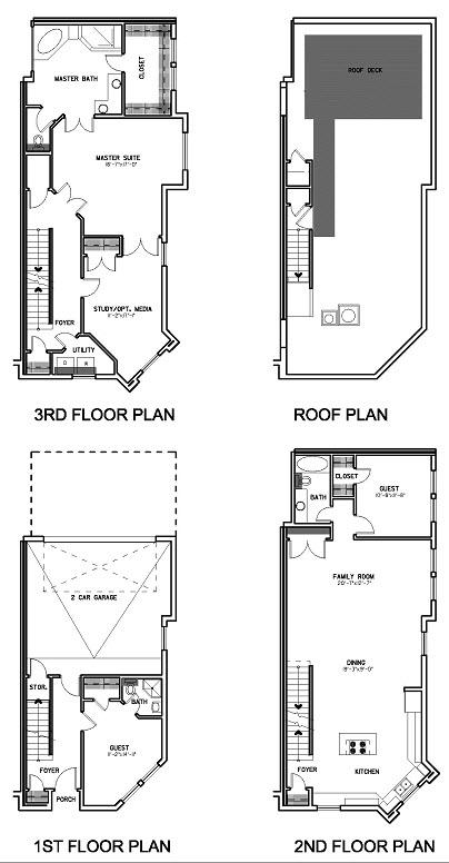 2,450 sq. ft. Floor Plan D floor plan