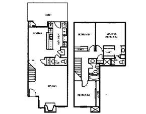 1,491 sq. ft. G14T floor plan