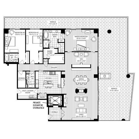 3,248 sq. ft. B14 floor plan