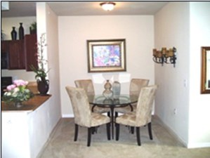 Dining Area at Listing #145714