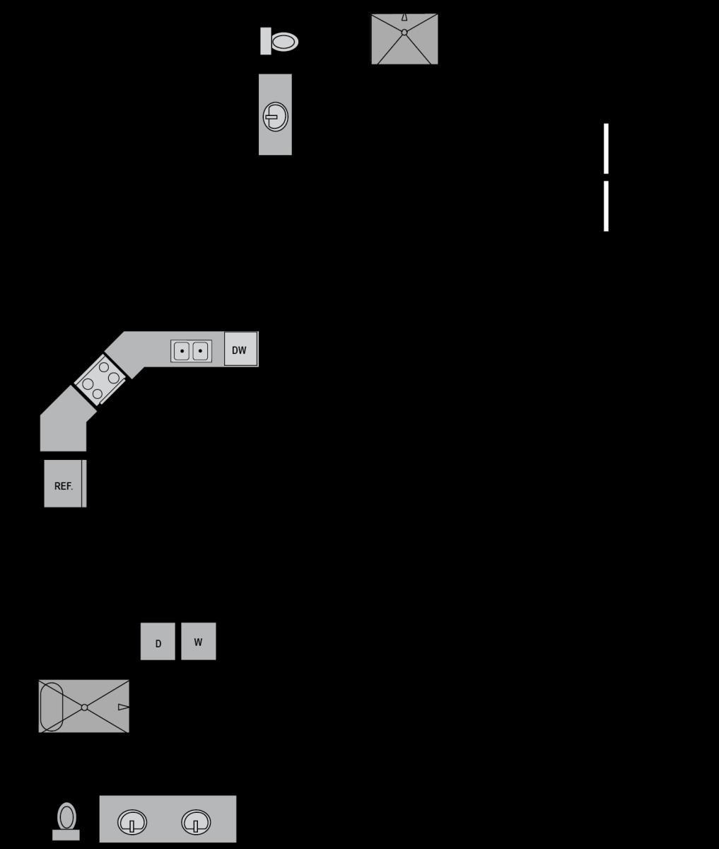 1,404 sq. ft. B7A floor plan