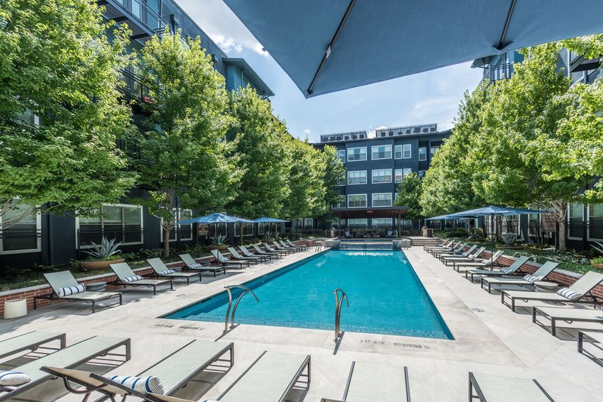 Pool at Listing #144806