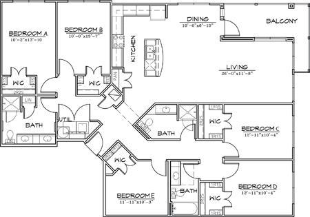 1,905 sq. ft. floor plan