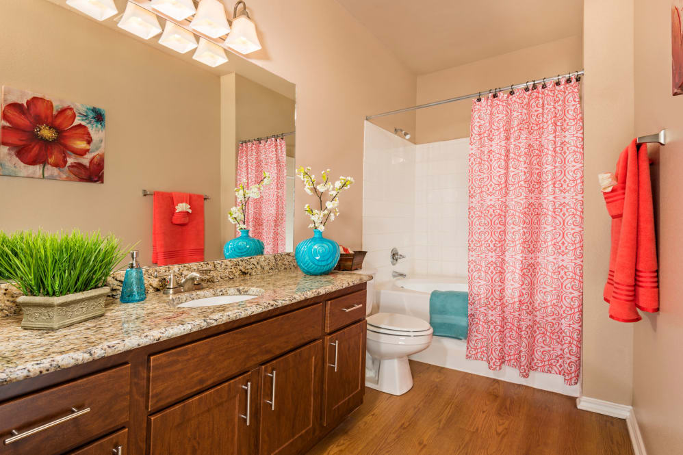 Bathroom at Listing #141398