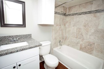 Bathroom at Listing #214330
