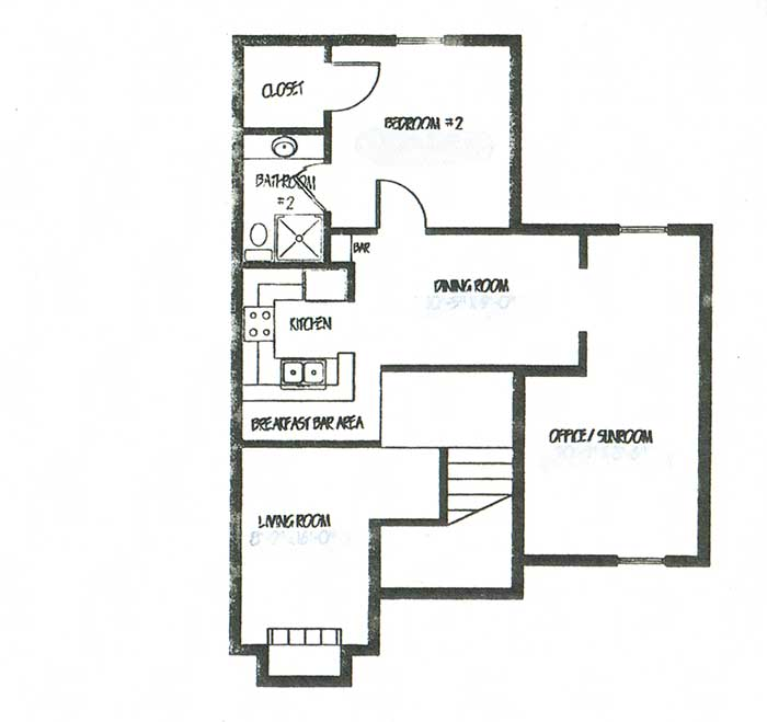 1,754 sq. ft. C2 floor plan