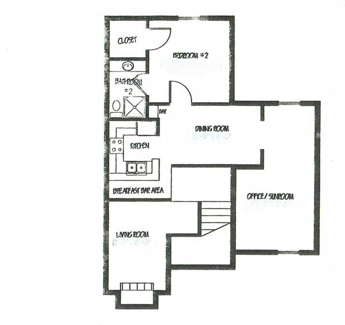1,754 sq. ft. C2 floor plan