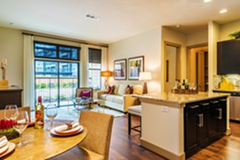 Living/Dining at Listing #266536