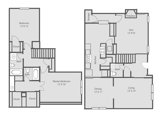 1,684 sq. ft. floor plan