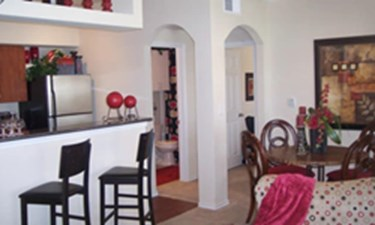 Dining/Kitchen at Listing #144442
