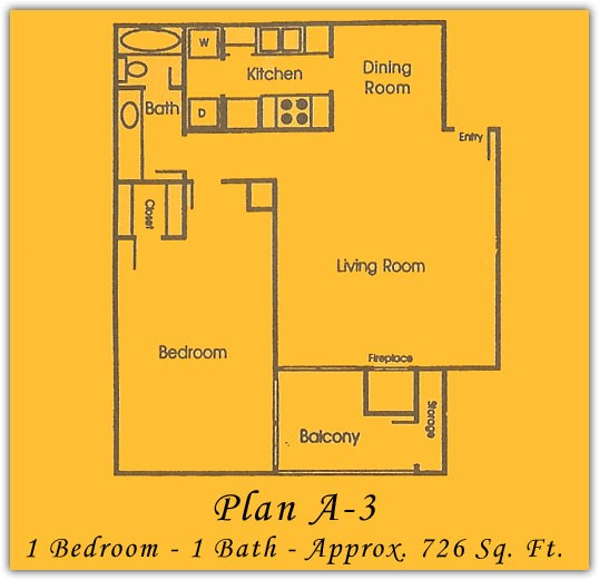 738 sq. ft. floor plan