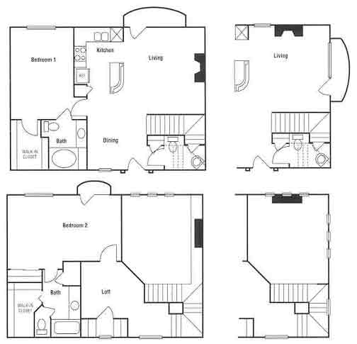 1,404 sq. ft. floor plan