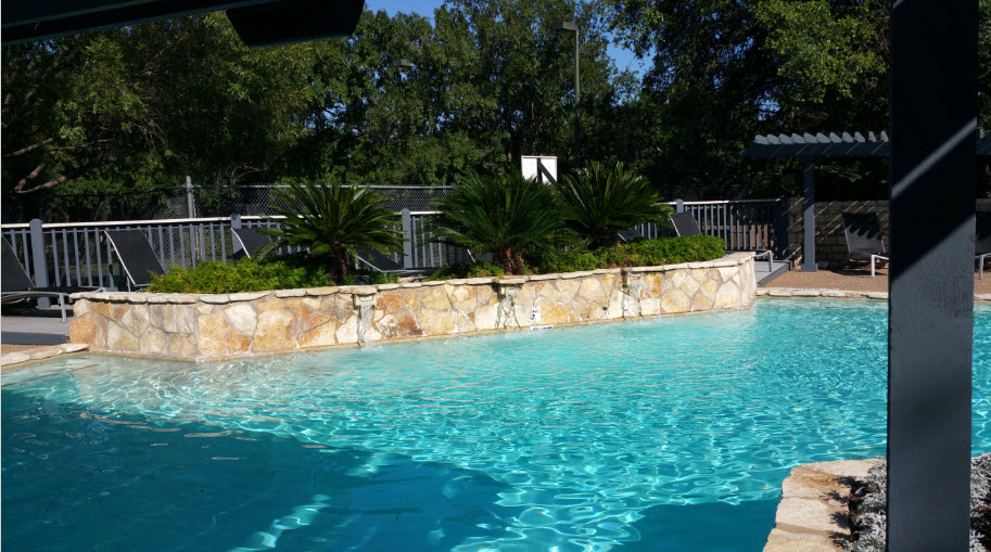 Pool at Listing #140534