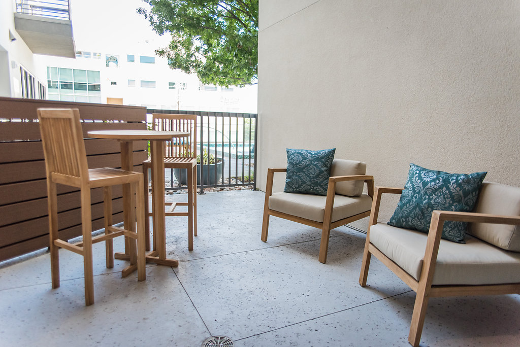 Patio at Listing #282486