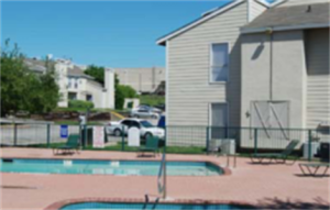 Pool at Listing #136497